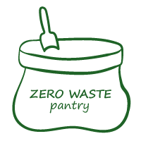 Zero waste pantry logo